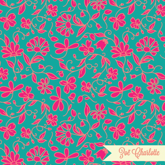 Inspired by the beautiful bright saris of India, check out the pure pink version too.