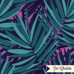 It's a jungle out there! This print would be great for unisex textiles and quirky stationery.