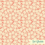 A fun ditsy floral of sakura blossoms - very Japanese! Light Pink and Blue versions of this print are also available on my Spoonflower shop. This is part of my Kyoto in Spring collection.
