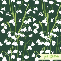 One of my first patterns, Snowdrops was inspired by the organic intricacy of the designs by the Arts and Crafts movement.