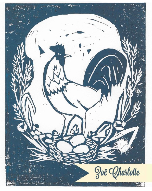 year-of-the-rooster-linocut-logo